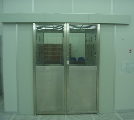 自动门风淋室